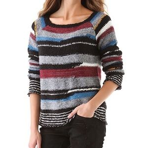Free People Striped Knit Sweater | Montemartre